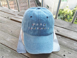 Belababy 2016 Real Friends Baseball Caps Curved Chapeau Visor Dad Hats Casquette Brand Bone Fashion Hats - Vietees Shop Online