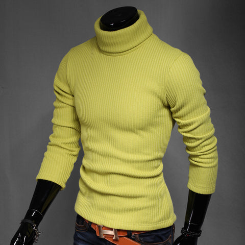 2017 Full Cotton Real Limited Ugly Christmas Sweater Pullover Men Ropa Hombre Autumn And Winter Male Slim Turtleneck Basic Shirt - Vietees Shop Online
