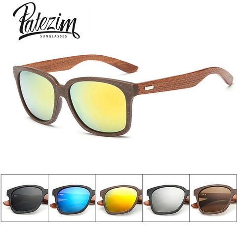 2016 Rays Designer Wooden Frame Sunglasses Unisex  Wood Foot Men Goggles uv400 Sun Glasses For Women gafas de sol hombre oculos - Vietees Shop Online