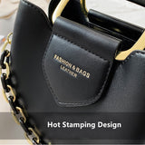 2020 Luxury women's one-shoulder handbag PU Leather quality Messenger Casual Fashion
