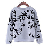 2016 women winter autumn fashion pullover sweater sueter camisa feminina pull femme animal printed sex  jersey ropa mujer jumper - Vietees Shop Online