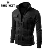 TANGNEST Handsome 2017 Top Slim Men Sweatshirt Casual Men Tracksuits Comfortable Popular For Male 5 Colors Asian Size MWW598 - Vietees Shop Online