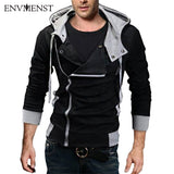 12 colors M-6XL 2016 Hoodies Men Sweatshirt Male Tracksuit Hooded Jacket Casual Male Hooded Jackets moleton Assassins Creed - Vietees Shop Online