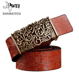 [DWTS] 2016 New ceinture femme belt hand real leather woven strap needle buckle casual style luxury female casual women belts - Vietees Shop Online
