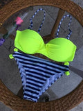 Bikini Set 2016 Summer Low Waist Swimwear Women Sexy Bench Swimsuit Bathing Suit Push Up Biquini Brazilian Maillot De Bain - Vietees Shop Online