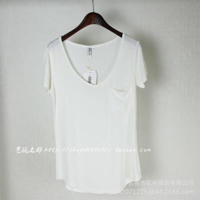 4 Colors Fashion All Match V Neck Short Sleeve T Shirts Summer New Arrivals S-4xl Plus Size Bottoming Loose European Style Tops - Vietees Shop Online
