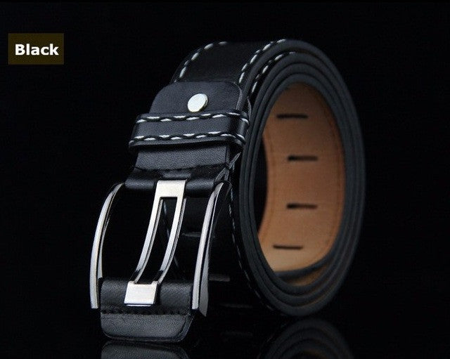New Fashion Belts Designer Men&woman High Quality Belts male&female Jeans with Prevent allergies PU Belts 2017 ceinture femme - Vietees Shop Online