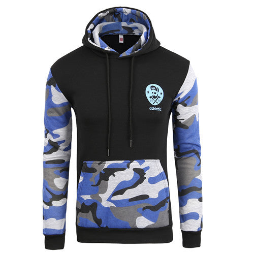 QA Camo Hoodies Autumn 2016 Men Sportwear Pullovers Comfortable Casual Hip hop Sweatshirt Plus Size - Vietees Shop Online