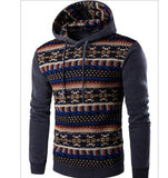 2017 Hoodies Mens Hombre Hip Hop Male Brand Hoodie Fashion Geometric Print Sweatshirt  Suit Men Slim Fit Men Hoody XXL EYRV - Vietees Shop Online