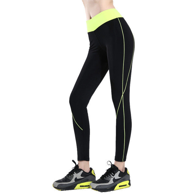 Vertvie Women Yoga Pants High Waisted Skinny Sport Pencil Pants Quick Dry Gym Jogging Running Fitness Leggings Female Tights - Vietees Shop Online