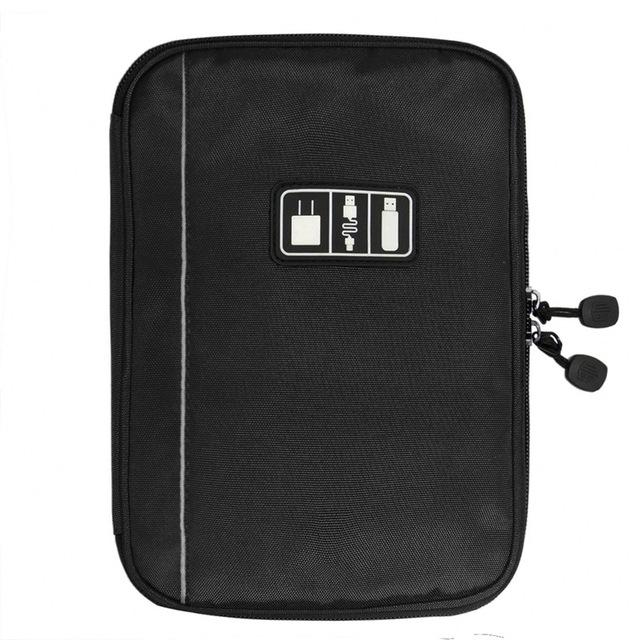 ECOSUSI Waterproof Travel Wire Bag Electronic Hard Drive SD Card USB Data Digital Cable Bag - Vietees Shop Online