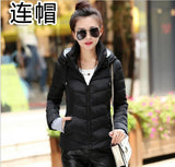 Women Winter Jacket Parka Thicken Outerwear Female Coats Hooded Design Cotton-padded - Vietees Shop Online