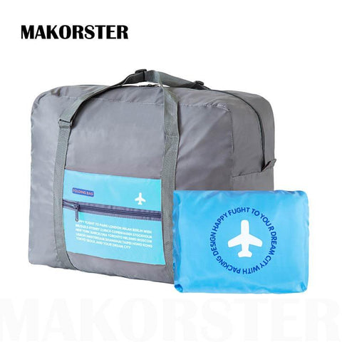 MAKORSTER Large Capacity Portable Fashion Women Travel Bags - Vietees Shop Online