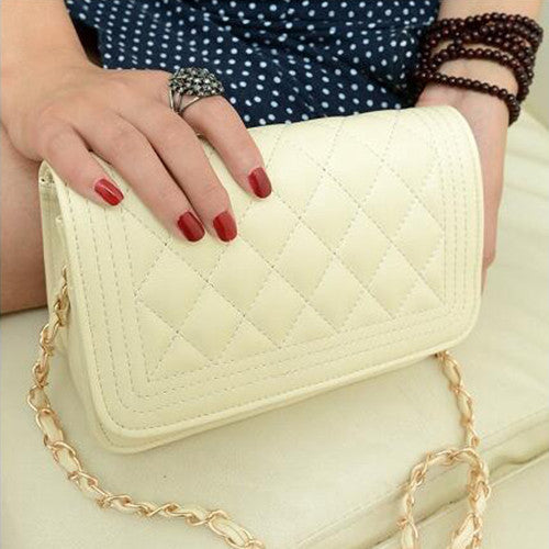 2016 New Women Messenger Clutches Bag Female Package Small Sweet Wind One Shoulder Han Edition Fashion Female Bags  6 Color - Vietees Shop Online