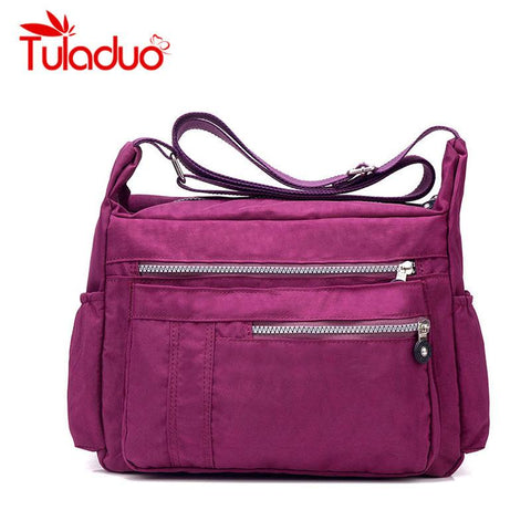 Women's Messenger Bags Ladies Nylon Handbag Travel Casual Original Bag Shoulder Crossbody Bag - Vietees Shop Online
