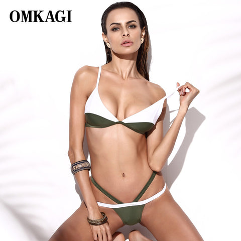 OMKAGI New Design Bikini Swimwear Women Swimsuit Sexy Brazilian  Biquini Push Up Bikinis Set Bathing Suit Swim wear Swim Suit - Vietees Shop Online