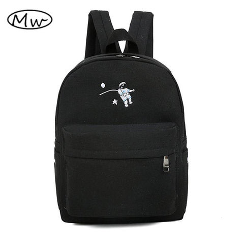 Funny embroidery printing backpack junior high school students schoolbag laptop bag backpack - Vietees Shop Online