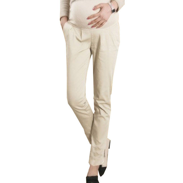 Cotton Pregnant Pants Maternity Clothes For Pregnant Women Trousers Pregnancy Pant - Vietees Shop Online