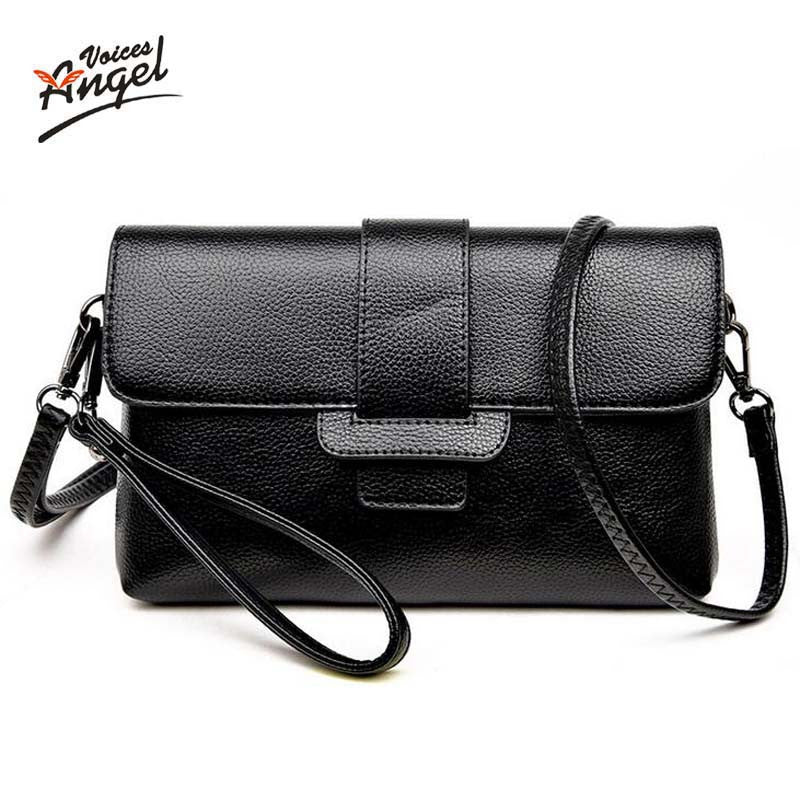 15ff76680aa Angel Voic Patent Pu Material Clutch Bag Women Messenger Bags for Women  Clutches Evening Bag Casual Small Bolsas Femininas Couro