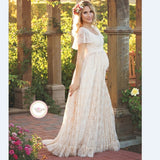 2017 Women White Skirt Maternity Photography Props Lace Pregnancy Clothes Maternity Dresses - Vietees Shop Online