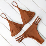 Hot Sexy Brazilian Bikini 2017 Swimwear Women Swimsuit Bathing Suit Biquini Bikini Set Bandage Swim Suit Maillot De Bain Femme - Vietees Shop Online