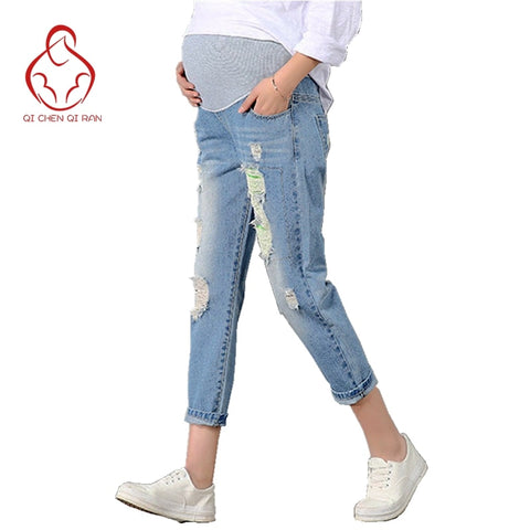 New Jeans Maternity Pants For Pregnant Women Clothes Trousers - Vietees Shop Online
