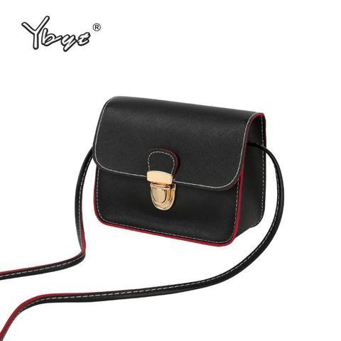 new casual small leather flap handbags high quality crossbody shoulder evening bags - Vietees Shop Online
