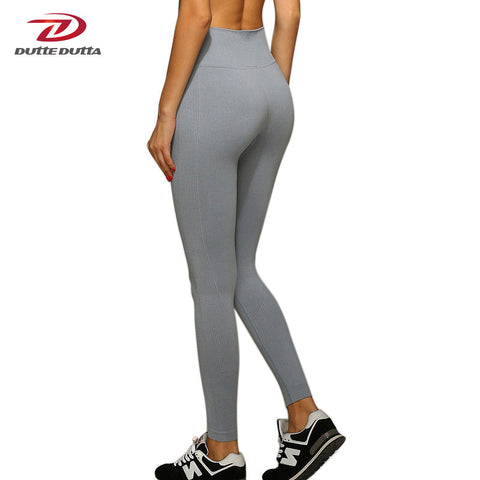 Women Yoga Pants High Elastic Fitness Sport Leggings Tights Slim Running Sportswear Sports Pants Quick Drying Training Trousers - Vietees Shop Online