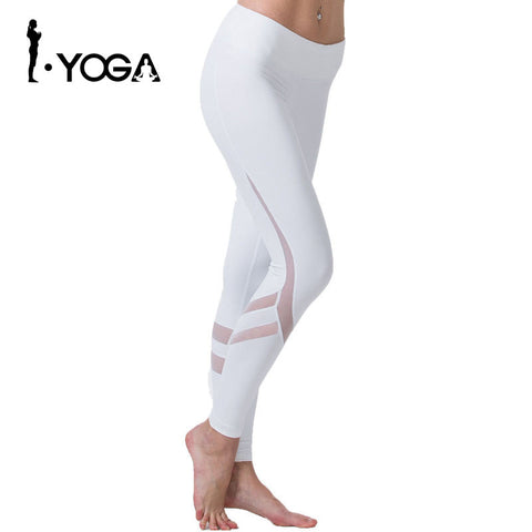 Fitness Yoga Sports Leggings For Women Sports Tight Mesh Yoga Leggings Yoga Pants Women Running Pants Tights for Women K9-002 - Vietees Shop Online