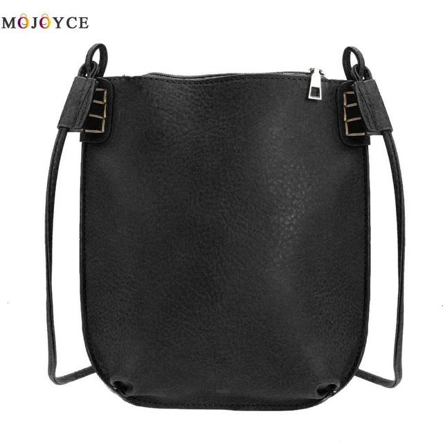 2017 Vintage Women Messenger Bag Ladies Small Bucket Women's Handbags Leather Crossbody Bag - Vietees Shop Online