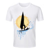 2016 New Style Man Sport T Shirt Windsurf Print Tops Fashion Hiphop O-Neck T-Shirt Summer Male Clothing Cool Surfing Man T Shirt - Vietees Shop Online