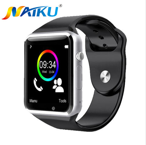 NAIKU WristWatch Bluetooth Smart Watch Sport Pedometer With SIM Camera Smartwatch For Android Smartphone PK GT08 U8 M26 - Vietees Shop Online