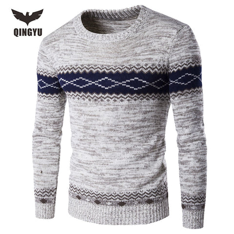 Pull Homme 2016 O-Neck Sweaters Knitted Long Sleeve Men Sweater - Vietees Shop Online