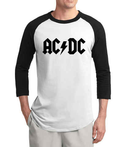 Australia Rock Band Hot AC/DC t shirt 2017 summer 3/4 sleeve shirt 100% cotton hip hop ACDC raglan men t-shirt brand-clothing - Vietees Shop Online