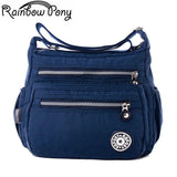 Rainbow Pony Women Nylon Bags For Women Shoulder Bag RBPONY Woman Handbag - Vietees Shop Online