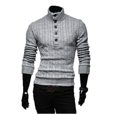 Mens Sweaters 2017 New Men Fashion Winter Coat Long-Sleeved Sweater Male Jacket Casual - Vietees Shop Online
