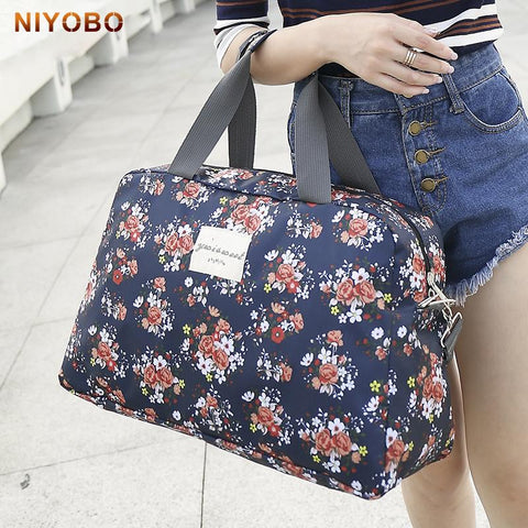 Women Travel Bags Handbags 2017 New Fashion Portable Luggage Bag - Vietees Shop Online