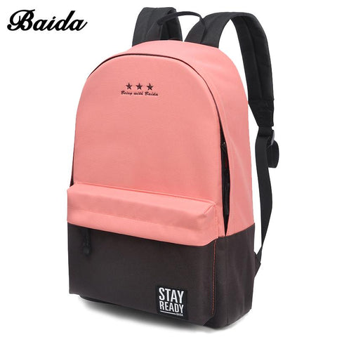 Fashion Backpack Women Children Schoolbag Back Pack Laptop Travel Bags - Vietees Shop Online