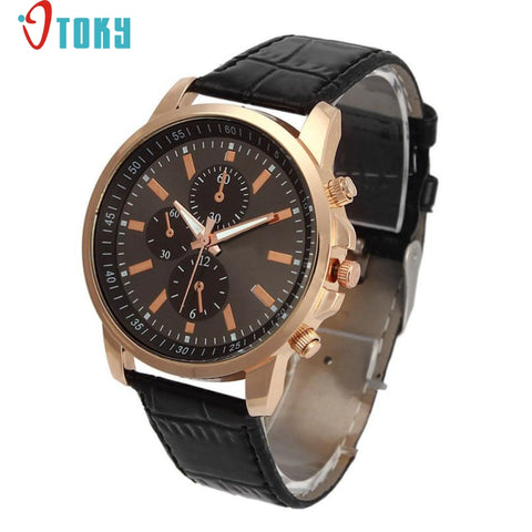 Excellent Quality OTOKY Luxury Quartz Watches Men's Fashion Geneva Quartz Clock Leather Strap Wristwatches Relogio Masculino - Vietees Shop Online