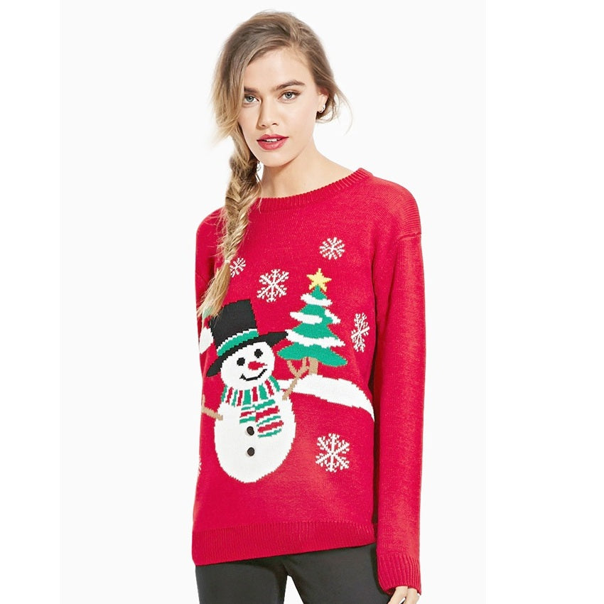 Christmas Sweater Women Sweaters And Pullovers Ugly Christmas ...