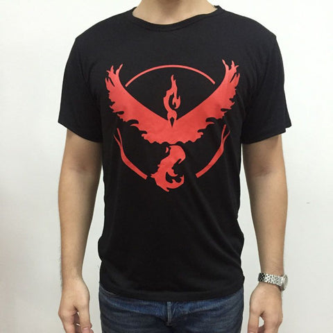 2016 hot pokemon go t shirt tee homme male Team Valor Team Mystic Team Instinct  pokemon tshirt shirts high quality 6 color - Vietees Shop Online