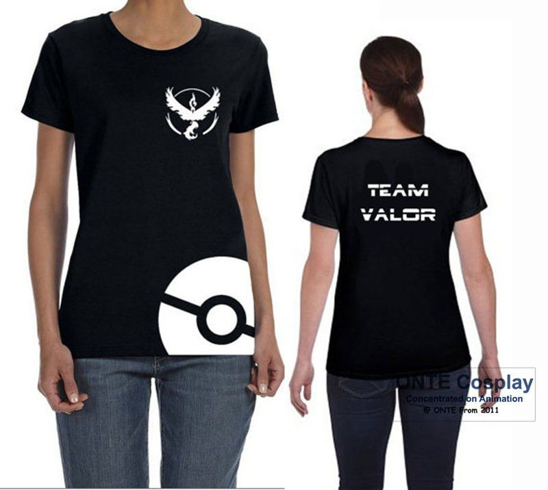 2016 New Games Pokemon Go Costumes Unisex Short Sleeve Pocket Monster T-Shirts Tops Tees - Vietees Shop Online