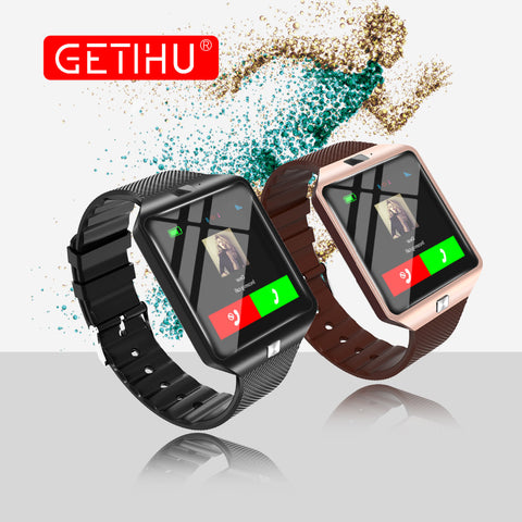 Smart Watch Digital DZ09 U8 Wrist with Men Bluetooth Electronics SIM Card Sport Smartwatch camera For iPhone Android Phone Wach - Vietees Shop Online
