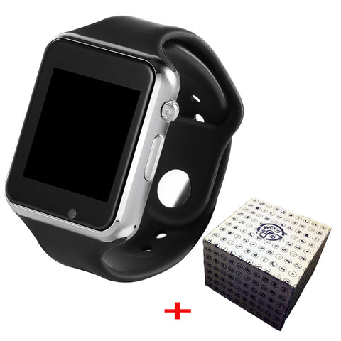 Time Owner A1 Smart Watch SIM Watch Phone Camera Smartwatches Pedometer Sleep Monitor SMS Call Reminder For Android (with Box) - Vietees Shop Online