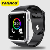 2016 New Smart Watch NK1 With Camera Bluetooth WristWatch SIM Card Smartwatch For Ios Android Phones Support Multi languages - Vietees Shop Online