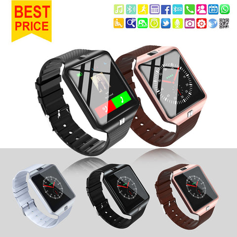 Smartwatch Smart Watch Wearable Devices DZ09 U8 Sport SIM Digital Electronics Wrist Phone With Men For iPhone Apple Android Wach - Vietees Shop Online