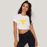 Pokemon Go T-Shirt Women Team Valor Mystic Instinct Summer Short-Sleeve TShirt Pokemon Go T Shirt Female Short Section T-Shirt - Vietees Shop Online - 4
