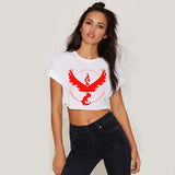 Pokemon Go T-Shirt Women Team Valor Mystic Instinct Summer Short-Sleeve TShirt Pokemon Go T Shirt Female Short Section T-Shirt - Vietees Shop Online - 11