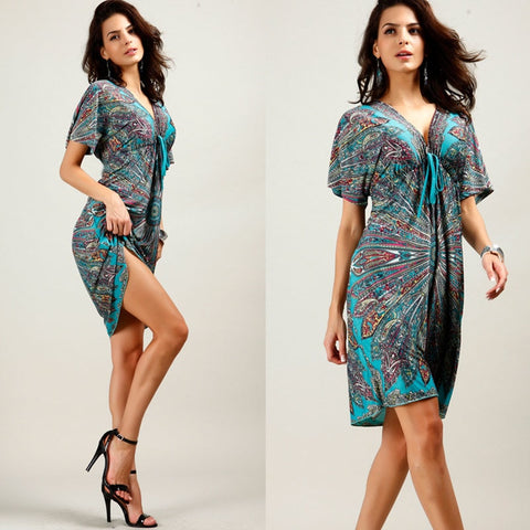 a11e3b742302b Maternity Dresses Nursing Dress Summer Printing V-neck Pregnant Clothing -  Vietees Shop Online