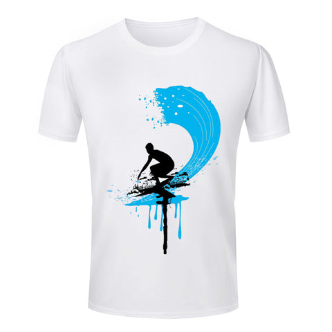 Fashion Summer Men's T Shirts 3d surffing Printed Round Neck Latest T-Shirt Mens New Arrival S-4XL - Vietees Shop Online